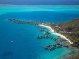 Aerial of Bora Bora