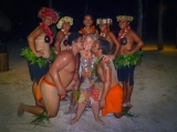 Tawna and French Polynesian Dancers