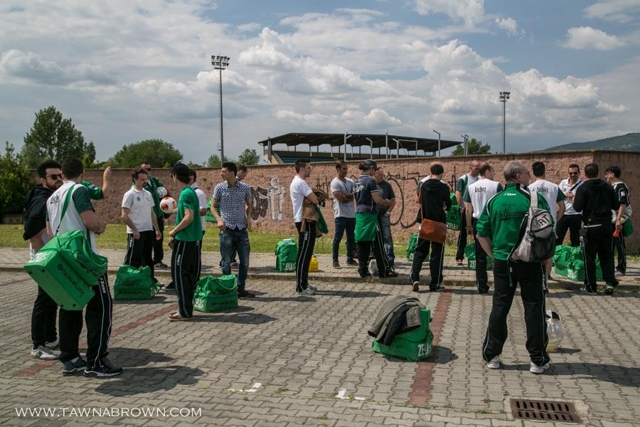 Cartagine59 Football Players Pre-game