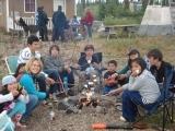 Deline campfire kids