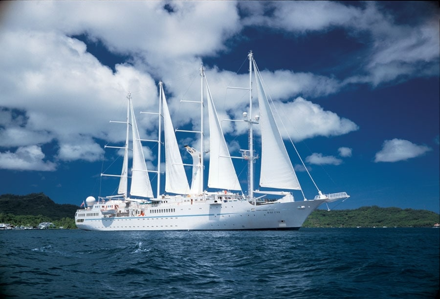 Windstar Wind Spirit Yacht - Copyright Windstar Cruises