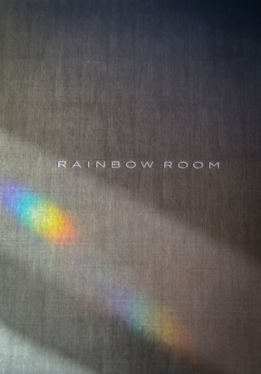 Rainbow Room Menu