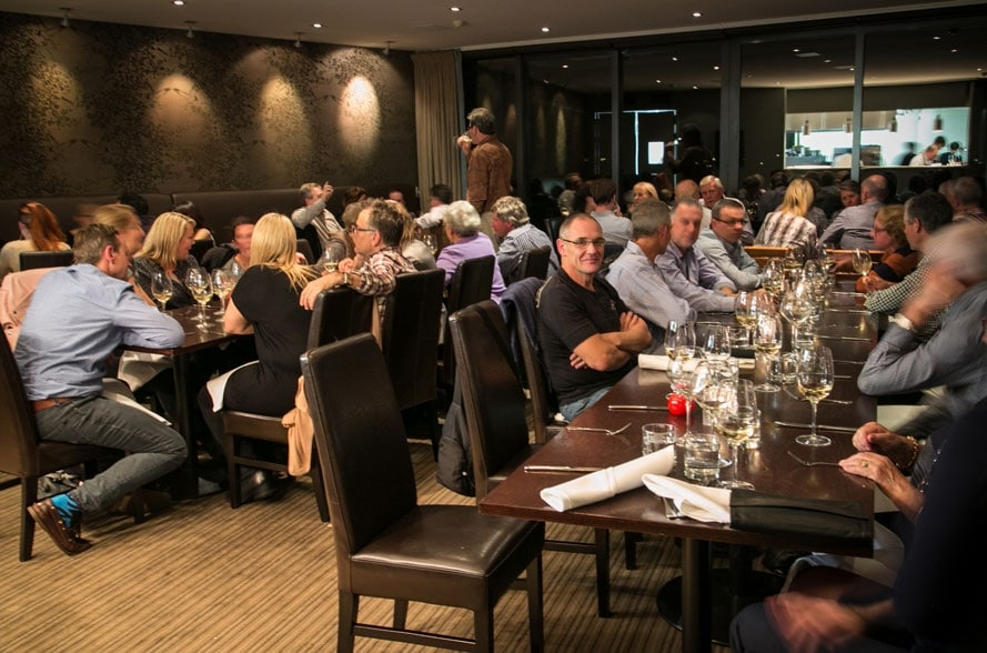 Guests at Culinary Series Winemakers Dinner