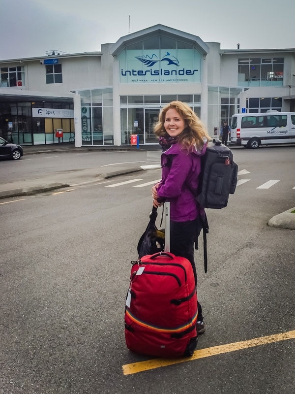 Tawna with Pacsafe Luggage in New Zealand