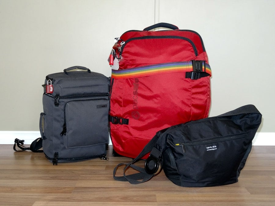 Round-the-world Luggage