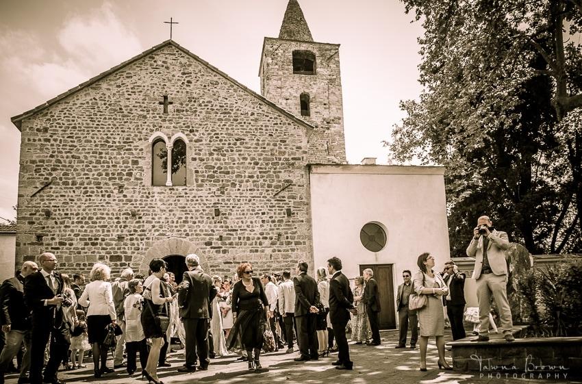 Wedding at Pieve di San Venerio in La Spezia, Italy