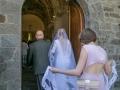 Bride's Grand Entrance in Church