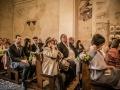 Guests at Wedding Ceremony at Pieve di San Venerio