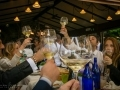 Toasting at the Wedding Reception