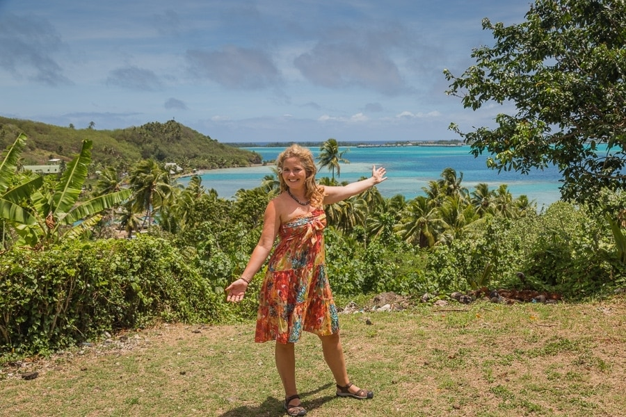 Tawna Brown in Bora Bora