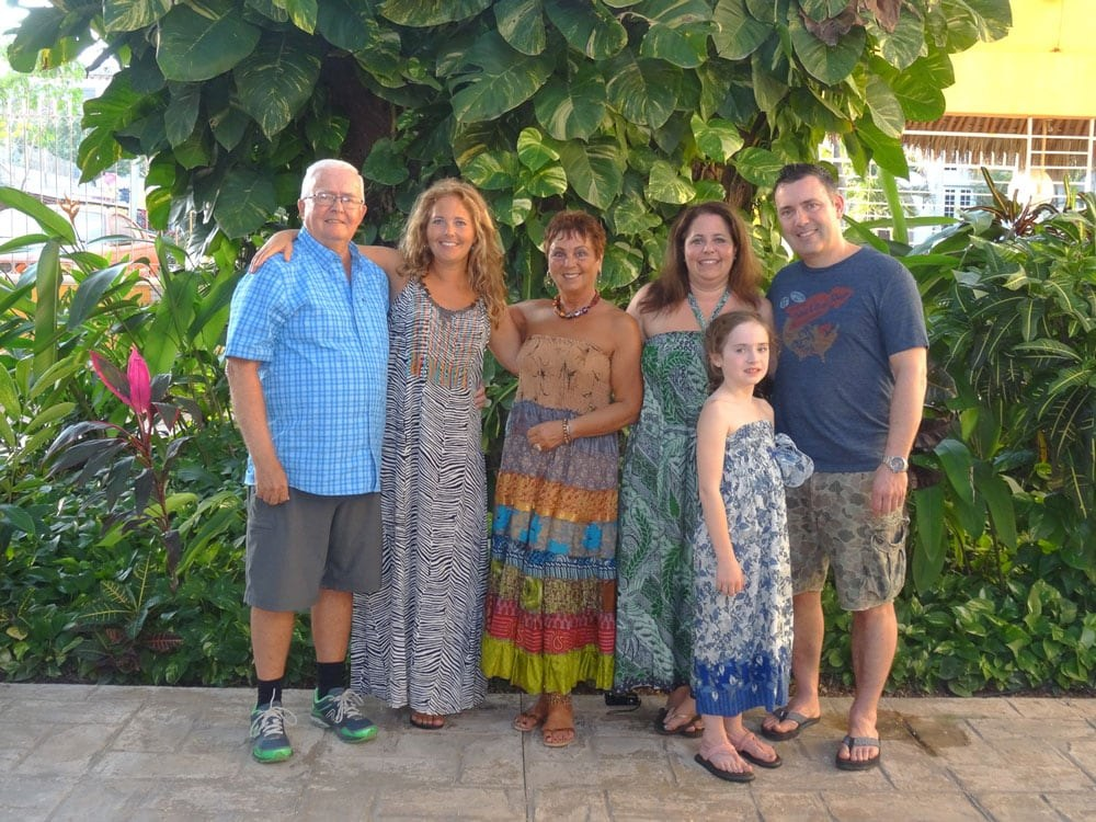 Tawna and Family in Mexico