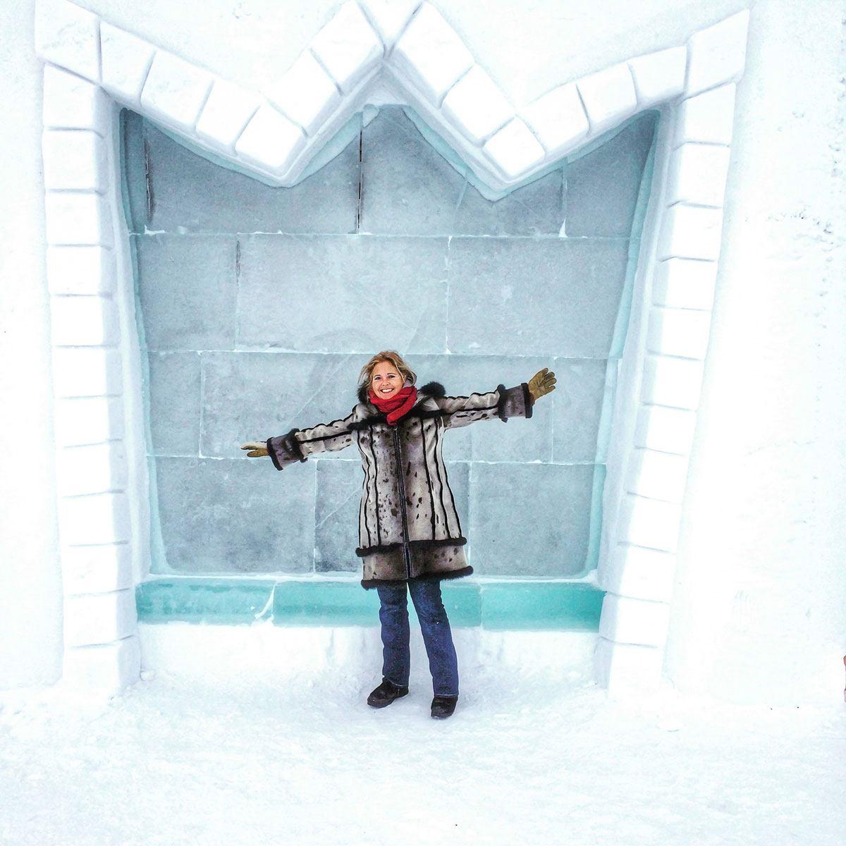 Tawna Brown at Snow Castle