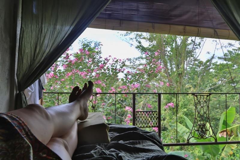 Bali Silent Retreat Bedroom