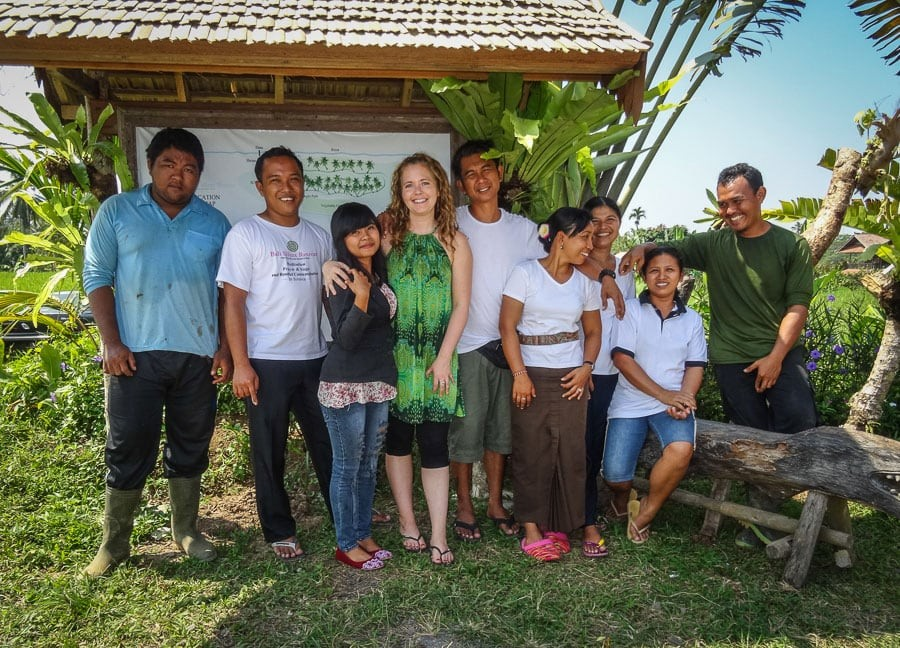 Bali Silent Retreat Staff