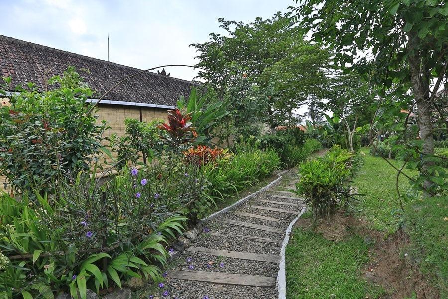 Bali Silent Retreat Garden