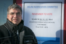 Deline Self-government Chief Negotiator Danny Gaudet