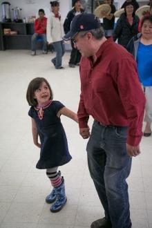 Danny and Jaylyn dancing