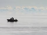 Boat in Great Bear Lake
