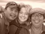 Tawna Brown with Gordon Taneton and Joe Tetso