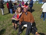 Tawna Brown with Alfred Taneton