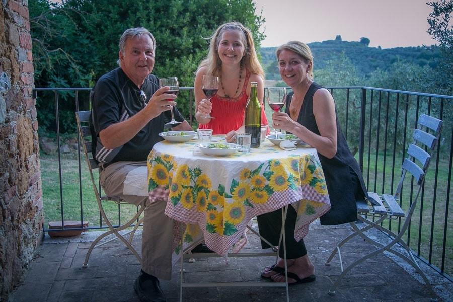Dinner Under the Tuscan Sun