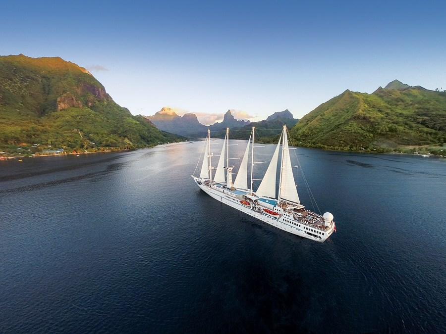Windstar Wind Spirit luxury yacht- Copyright Windstar Cruises