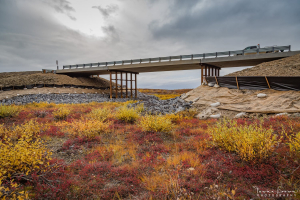 Inuvik-Tuktoyaktuk Highway Bridge