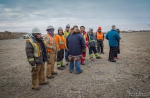 Construction Crew, Inuvik-Tuktoyaktuk Highway