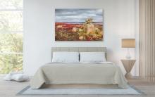 "Inukshuk Canvas Print (54x36"") Mockup"