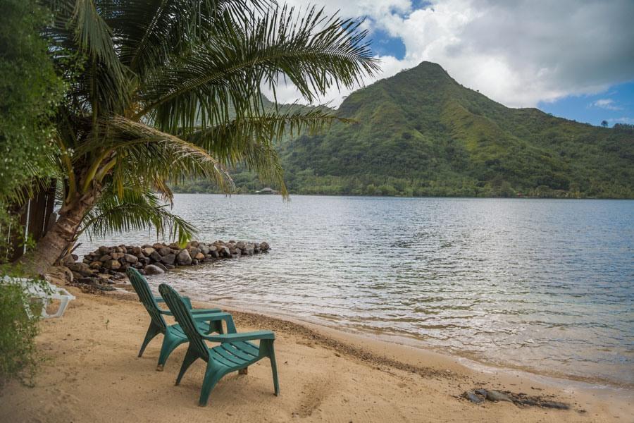 Solitude at Villa Cook in Moorea