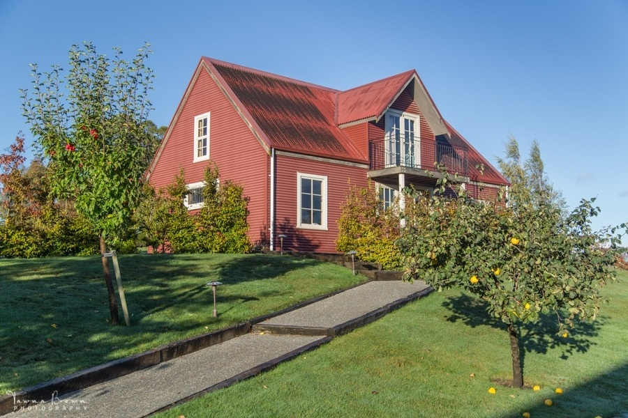 The French Barn on Dog Point Vineyard estate, Marlborough