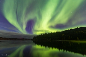 Aurora Borealis at Prelude Lake