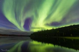 Aurora Borealis at Prelude Lake