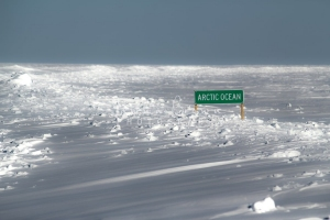 Arctic Ocean Sign Post