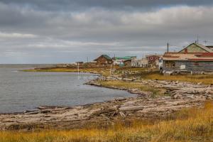 Tuktoyaktuk along Arctic Ocean