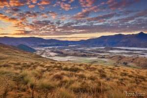 Sunrise at Coronet Peak