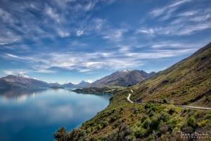 View of Lake Wakatipu,