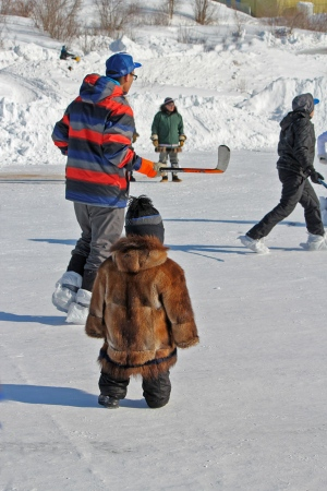 Canadian Ice Hockey in Inuvik