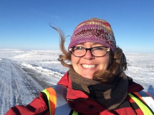Tawna in the Canadian Arctic