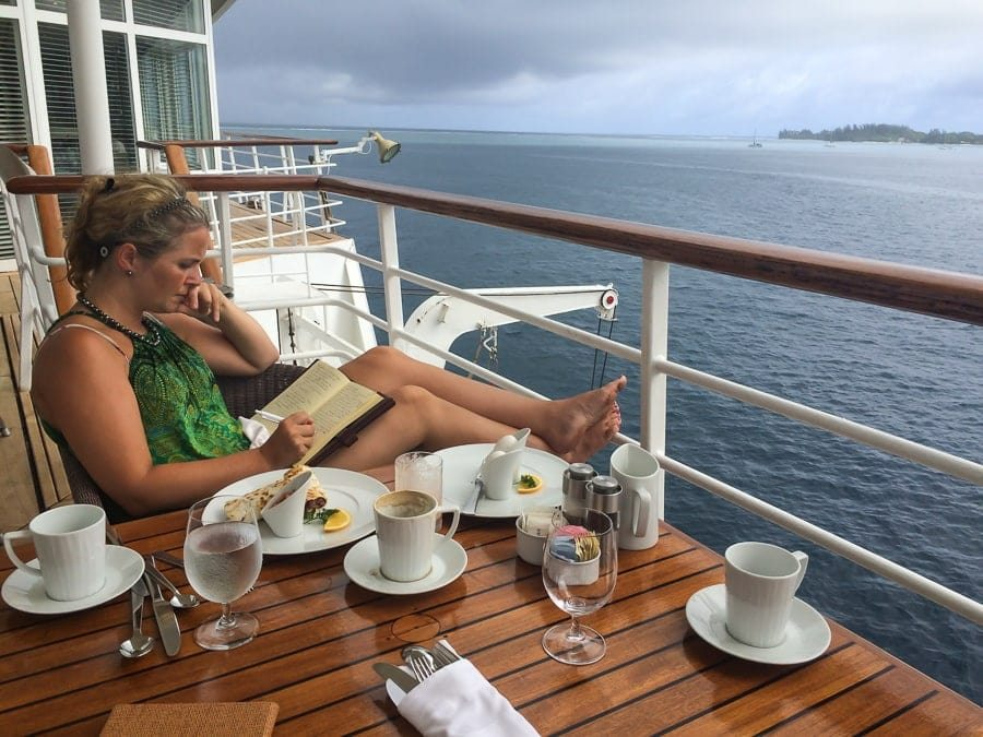 Sailing solo in the South Pacific